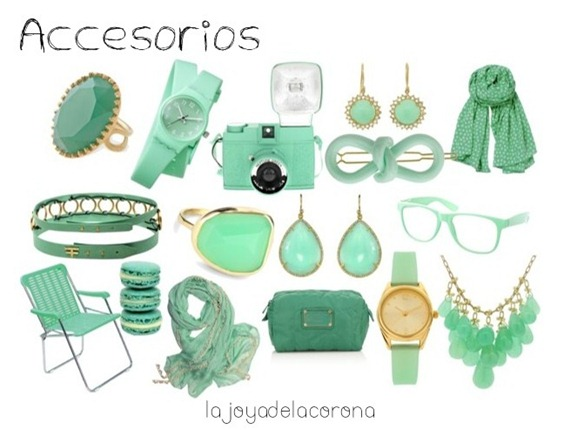 mint accesories