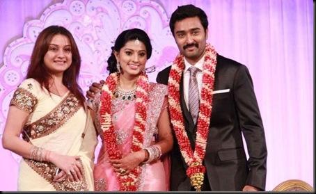 Sneha and Prasanna Wedding Reception Photos_45