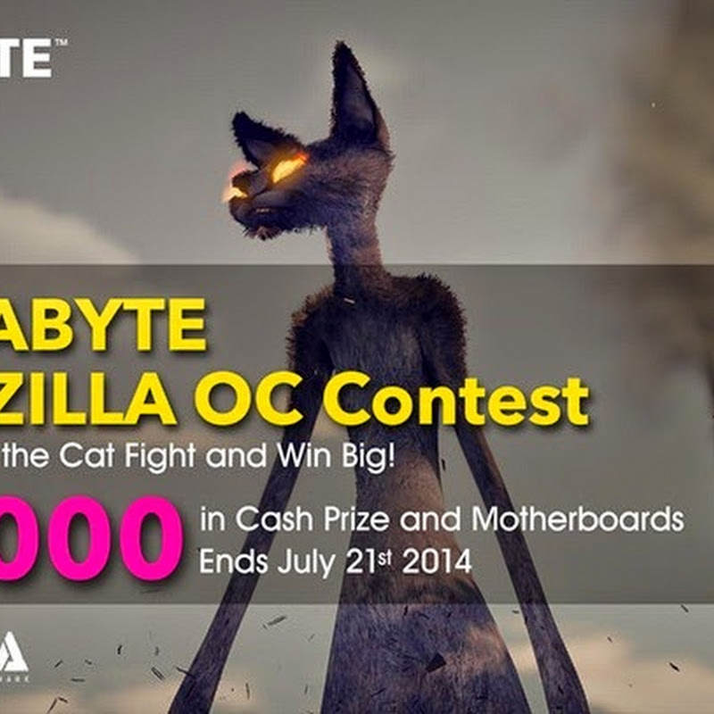 Last week for the GIGABYTE CATZILLA OC Contest