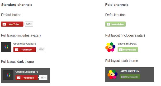 Cómo agregar un botón de suscripción de Youtube a tu sitio web o blog