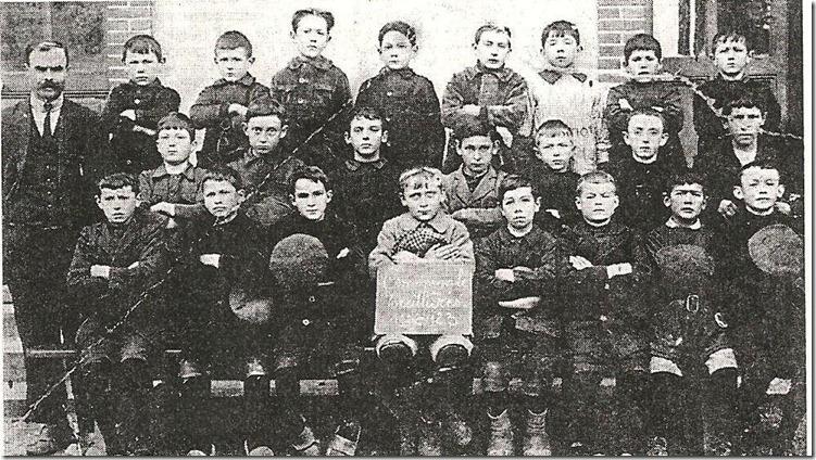1922-1923 classe garçons Mr Jagot