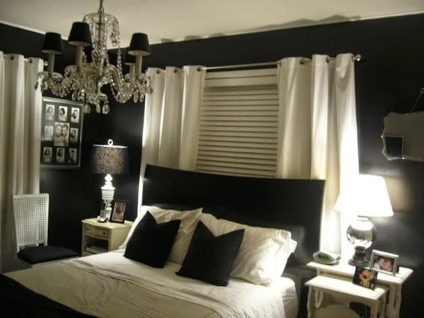 Luxury Best Bedroom Colors Black Bed Frame White Curtain White Table Best Bedroom Colors