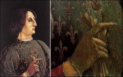 Pollaiuolo, Portrait de Galeazzo Sforza 1471