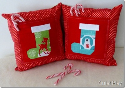 Sew Seasonal Christmas Cushions