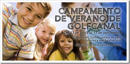 Campamentos Urbanos de Verano GolfCanal 2014. Golf, Pádel, Fútbol, Hockey, Inglés, Talleres y mucho más en pleno centro de Madrid.