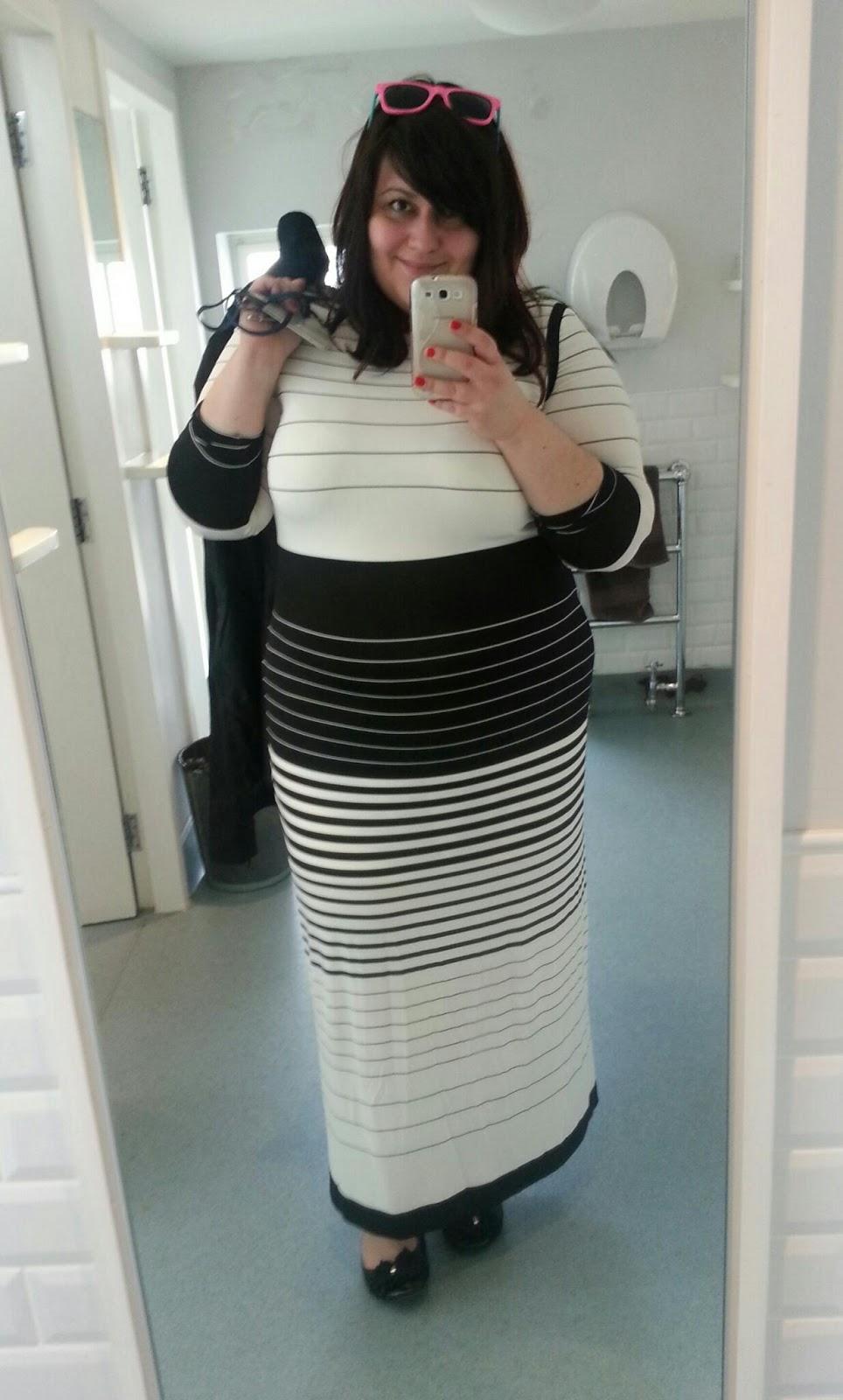 Per Una Black Dress Part - 39: I Wore My Per Una Dress U0026 New Look Black Mac