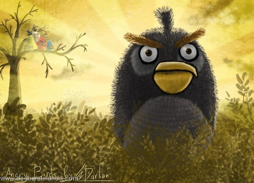 angry birds fan art desbaratinando  (10)