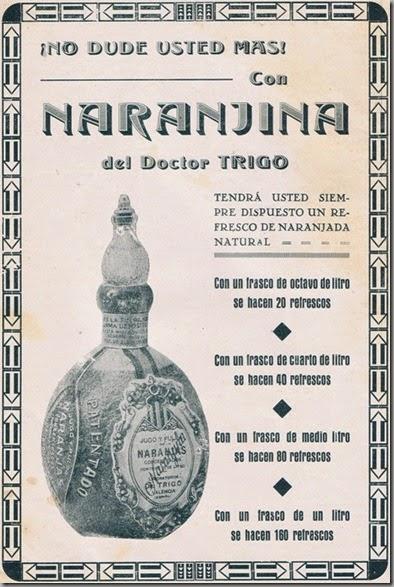 Naranjina del Doctor Trigo, 1932