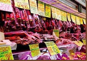 Salamanca  market hams