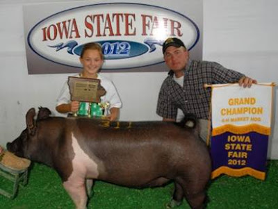 Morgan Brinning of Keota.  Photo Courtesy:  Washington County Extension.
