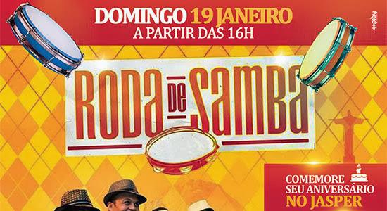 Grupo Samba do Produto é o destaque da Roda de Samba deste domingo, dia 19, no Mr. Jasper, em Salto