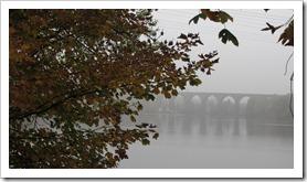 und die Ruhr im Nebel
