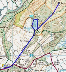 Muncaster fell route