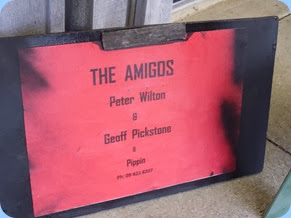 We had several mini concerts during the afternoon and after dinner by The Amigos with their own entertaining style of folk music. Peter Wilton played with Jan and Kevin Johnston for the Club at our Christmas Special Club Night in December 2013.