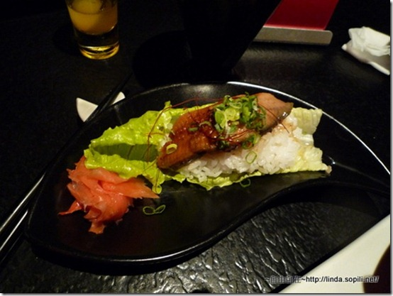 食事 - 鰻魚手捲