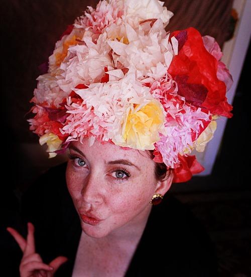 aunt peaches flower hat