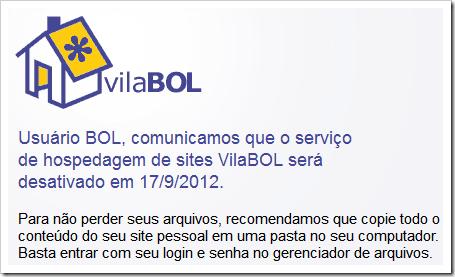 VilaBol será totalmente encerrado