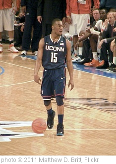 'Kemba Walker, Connecticut Huskies' photo (c) 2011, Matthew D. Britt - license: http://creativecommons.org/licenses/by-sa/2.0/