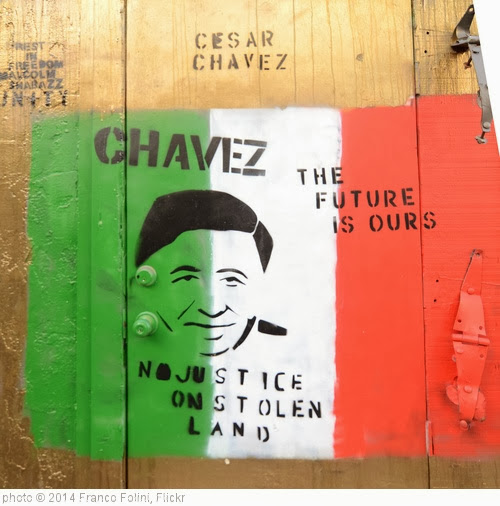 'Mural: Cesar Chavez' photo (c) 2014, Franco Folini - license: http://creativecommons.org/licenses/by-sa/2.0/