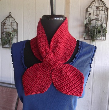Free Crochet Pattern For Ascot Scarf : Scottys Place: Crochet Ascot