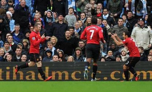 Hasil Manchester City vs Manchester United
