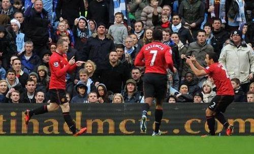Hasil Manchester City vs Manchester United