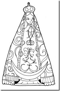 Colorear Virgen Del Valle De Catamarca Jugar Y Colorear