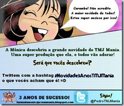 Monica Novidade 3 Anos TMJ Mania