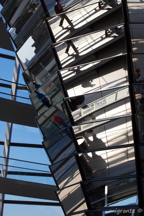 Cono espejado - detalle - - Reichstag - Berlin