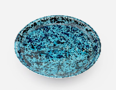 Plate | Origin:  Iran | Period: 17th century  Safavid period | Details:  Not Available | Type: Stone-paste painted under glaze | Size: W: 11.0  cm | Museum Code: S1997.68 | Photograph and description taken from Freer and the Sackler (Smithsonian) Museums.