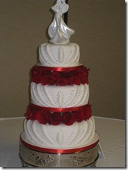 weddingbee.com unique cakes my frances orlando fl red roses