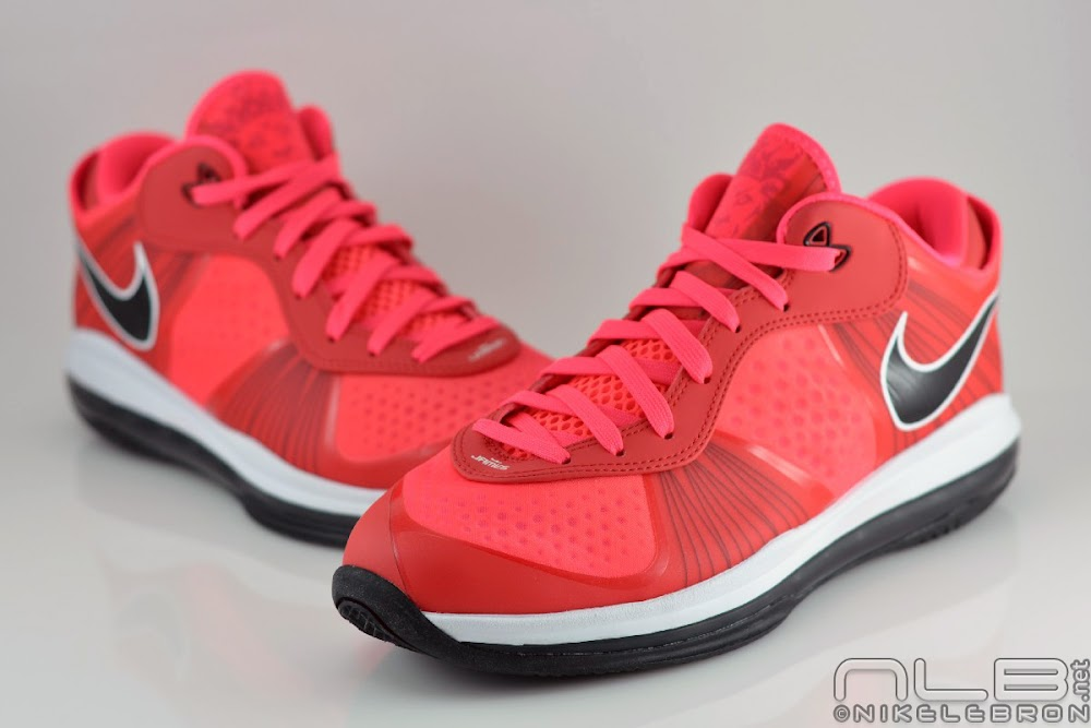 lebron 8 low red - photo #46