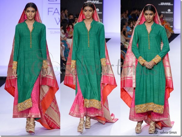 Gaurang_Shah_Green_Full_Sleeves_Salwar_Kameez