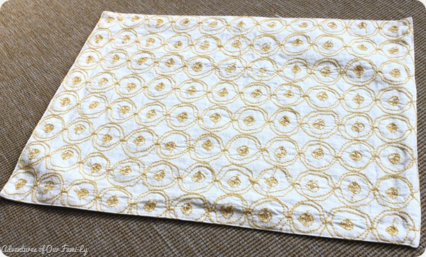 no sew pillow case target place mat