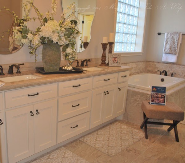 Double vanity for master bath