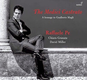 CD REVIEW: THE MEDICI COUNTERTENOR (Glossa GCD923501)