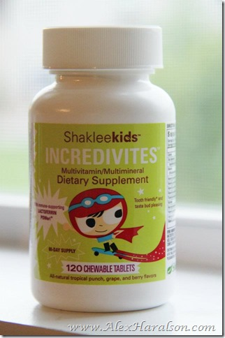 incredivites kids multivitamins