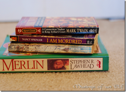 Various Arthurian Legend Fiction