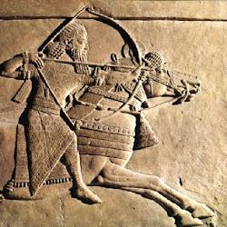 19.- Relieves de Jorsabad. Sargón cazando