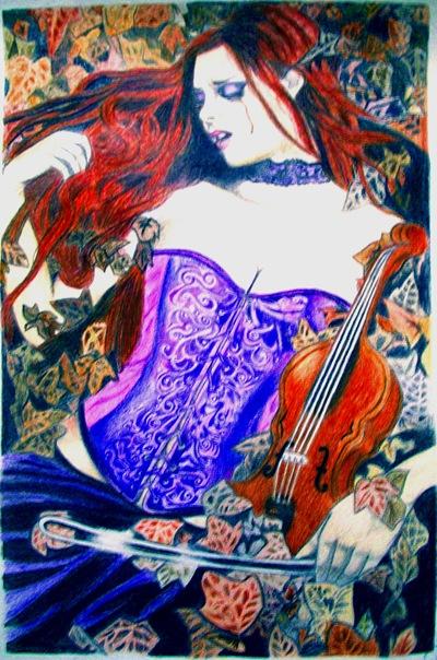 Ilustración de Victoria Frances versionada por Erica Torres