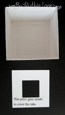 cake box surprise box - Lid SDS - Ruthie Lopez DT 5