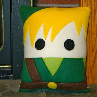 Link Pillow by Heart Felt Designs