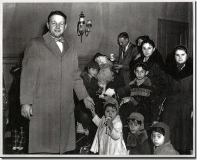 Ellis family - December - 1954