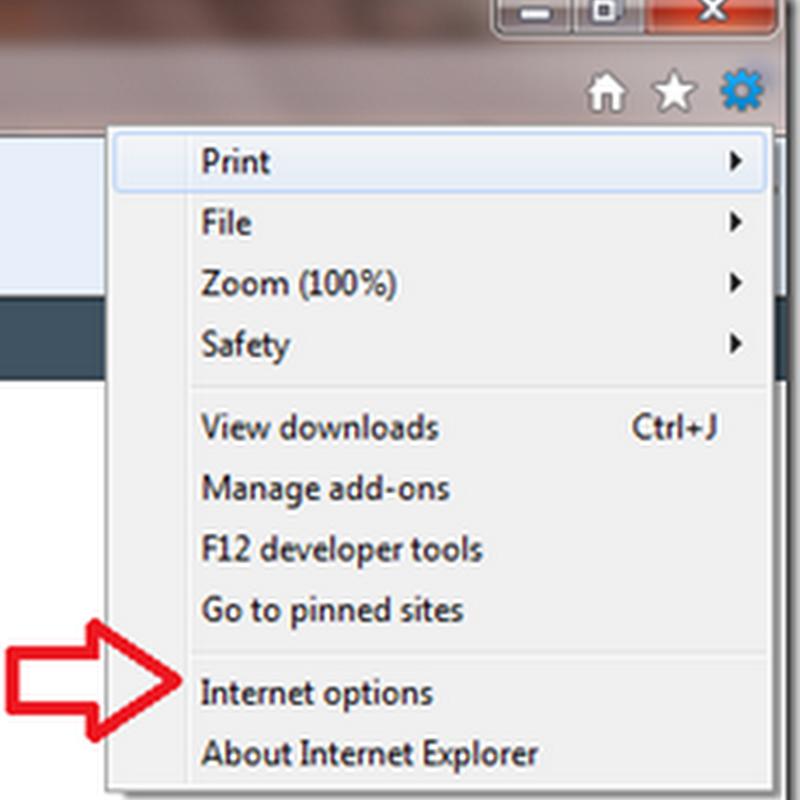 การยกเลิกบันทึกรหัสผ่าน password ใน Internet Explorer 9