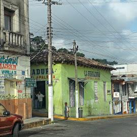 Papantla, Veracruz by Shane Adams - City,  Street & Park  Street Scenes ( adventure, mexico, street, tourism, travel, veracruz, city )