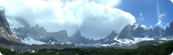Cadeia de Montanhas vista desde o Mirante