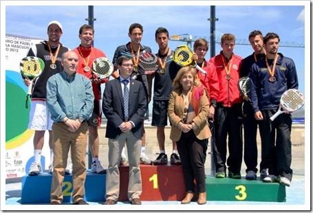 Middle Moon consigue el oro y la plata en el Campeonato de España Universitario 2012.