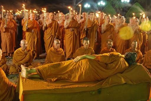 Phim Phật và Thánh chúng - cảnh quay cuối cùng Đức Phật Nhập Niết Bàn