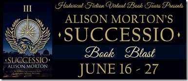 Successio book blast banner
