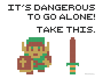 Free TLOZ Cross Stitch Pattern